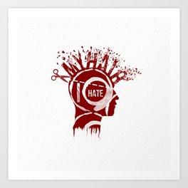 De Hater Art Print