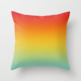 Color Gradient 005 Throw Pillow