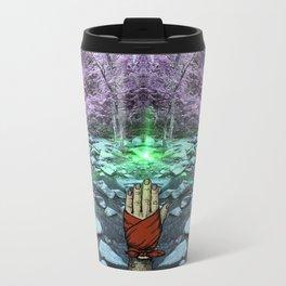 Frequency Illusion Metal Travel Mug