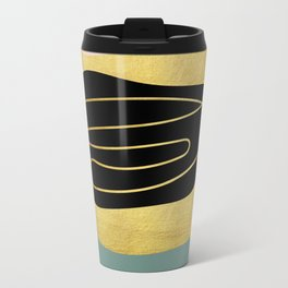 Modern minimal forms 3 Travel Mug