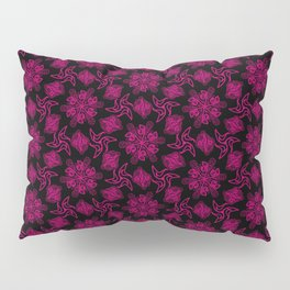 Crystal Space Flowers Pillow Sham