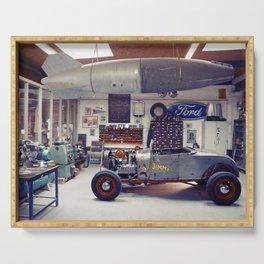 Hot Rod Garage Serving Tray