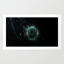 Molecule Art Print