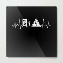 Electrician Gift Metal Print