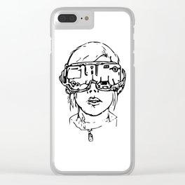 Futura Clear iPhone Case