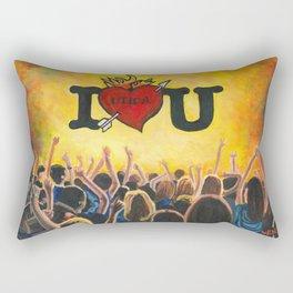 Utica Music and Arts Fest Rectangular Pillow