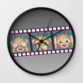 MONKEYING AROUND Wall Clock