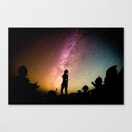 Stargazing - Super Smash Brothers Canvas Print