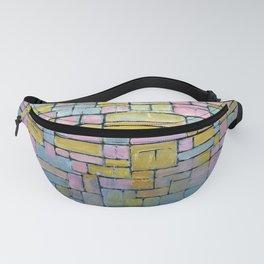 Piet Mondrian Composition No V Fanny Pack