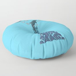 Glacier Bay II Floor Pillow