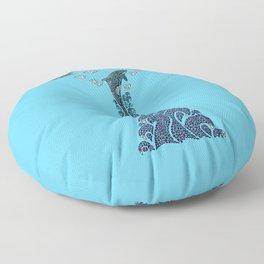 Glacier Bay II Floor Pillow