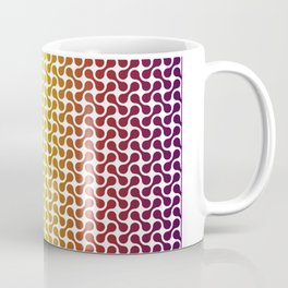 African Colours Metaball Pattern Coffee Mug