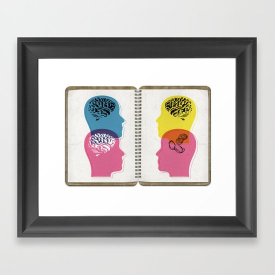 law of averages Framed Art Print