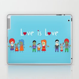 Love is Love Blue - We Are All Equal Laptop & iPad Skin