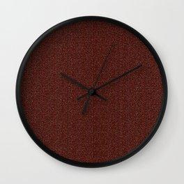 grandma's knitted sweater Wall Clock