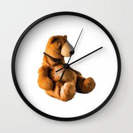 Cute Teddy  Wall Clock