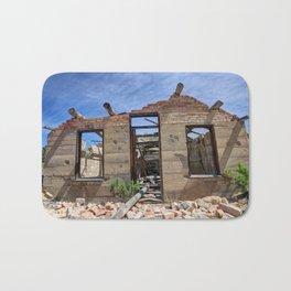 Abandoned Building - Nine Mile Canyon - Price - Utah Bath Mat