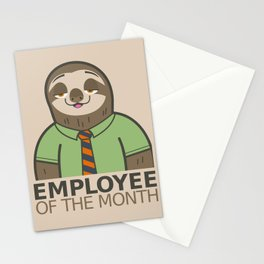 Employee of the Month Stationery Cards