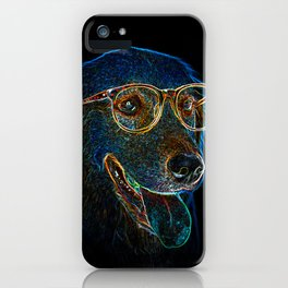 Geek Dog iPhone Case