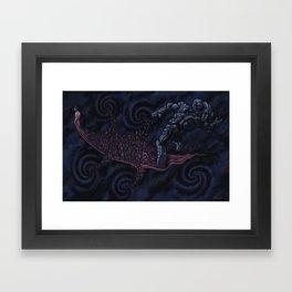 Subtraction Framed Art Print