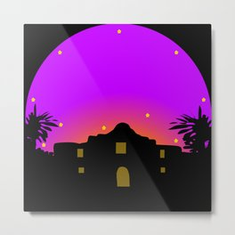 Remember the Alamo Metal Print