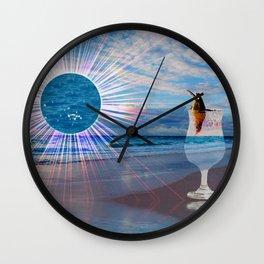 BEACH FANTA-SEA Wall Clock