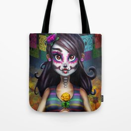 Tote Bag - Crown of Flowers by VIDA VIDA From China Sale Online Exclusive For Sale For Sale Finishline Lowest Price Online Shop Online y15t8