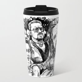 The Dude Abides Travel Mug
