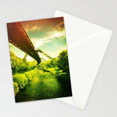 Green W. Stationery Cards
