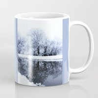 the neighbourhood Mugs featuring Let It Snow by Mark Alder