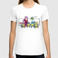 squirtle T-shirts featuring ninja squirtle by tama-durden