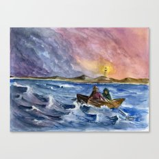 Storm Chased Canvas Print