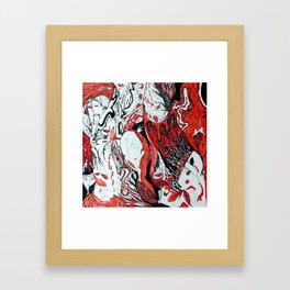 Stories About Nothing Framed Art Print