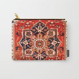 Heriz Serapi Azerbaijan Antique Persian Rug Print Carry-All Pouch
