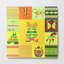 Indian patchworks57 Metal Print