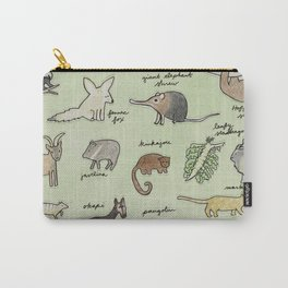 The Obscure Animal Alphabet Carry-All Pouch