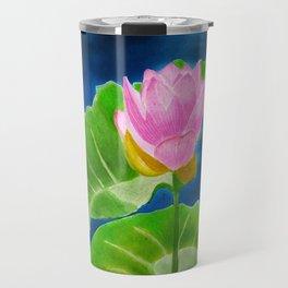 Pink Lotus Beauty Travel Mug