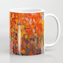 Tom Thomson - Autmn Wood - Canada, Canadian Oil Painting - Group of Seven Coffee Mug
