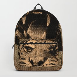 Vintage Tiger Backpack