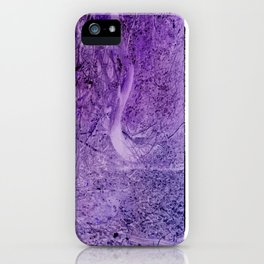 Season of the Land - Purple Storm iPhone Case