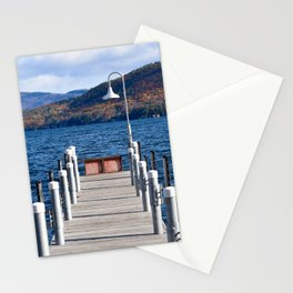 Lake George Pier Stationery Cards