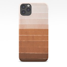 Sunset - rust, terracotta, clay, desert, sunshine, boho, ombre, paint, sunset colors,  iPhone Case