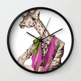 Refugee Zarafa (Giraffe) Wall Clock