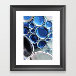 Blue-1 Framed Art Print