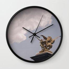 Trumpet My Return (c) Wall Clock