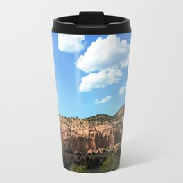 Mesas of New Mexico - Next to the Rock Amphitheater, No. 2 Travel Mug