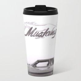 Mustang 1991 Metal Travel Mug