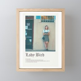 Lady Bird movie Framed Mini Art Print