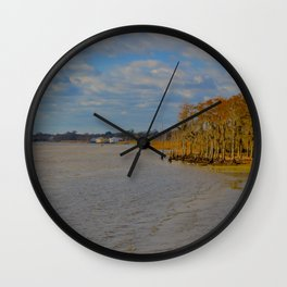 Lake Pontchartrain Wall Clock