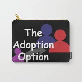 """The Adoption Option"" TV Show Logo Carry-All Pouch"